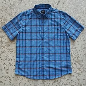 Marmot Barnabe Short Sleeve Plaid Button Down